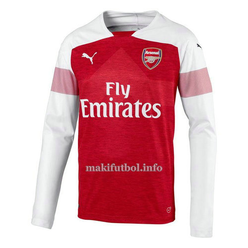 camiseta manga larga segunda arsenal 2018-2019