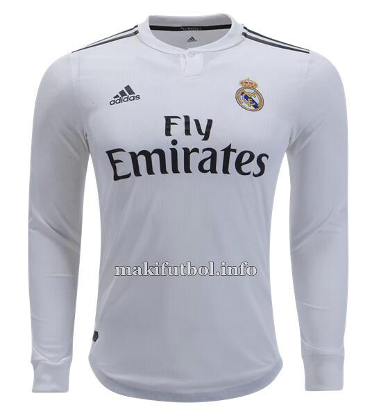 c0a165f915590 camiseta manga larga primera real madrid 2018-2019