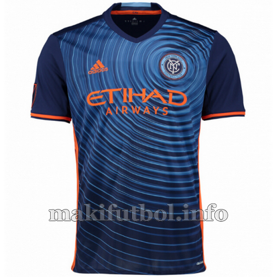 camisetas tailandia new york city 2016-2017 segunda