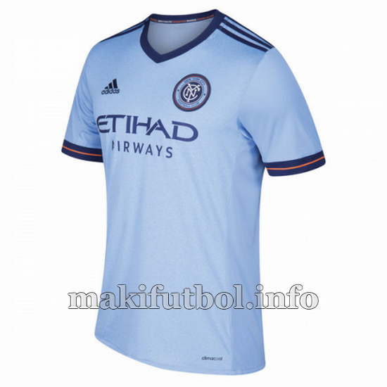 camisetas tailandia new york city 2017-2018 primera