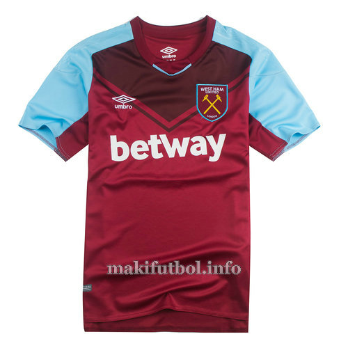 camisetas tailandia west ham united 2017-2018 primera